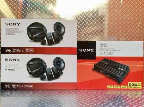 Combo 4 Set De Medios Y Amplificador Sony