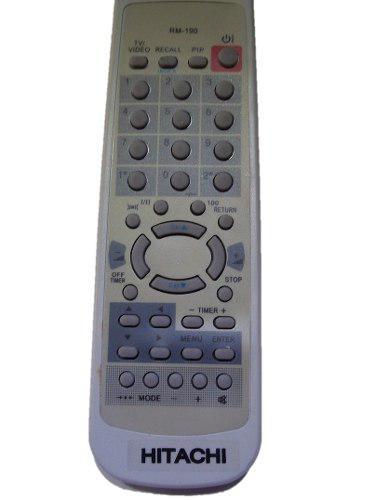 Control Remoto Rm-190 Para Tv De Cinescopio Hitachi