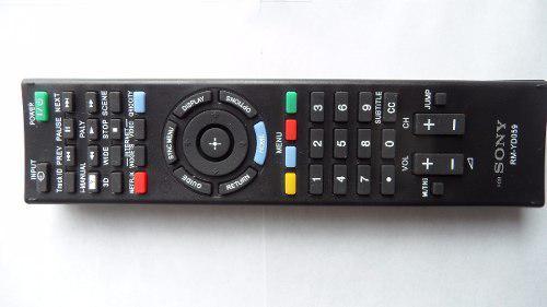 Control Remoto Sony Smart Tv 3d Botón Netflix 4 Pilas