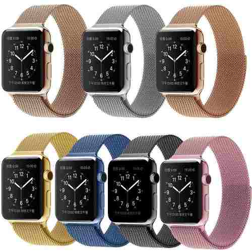 Correa Extensible Acero Inoxidable Apple Watch 38mm 42mm
