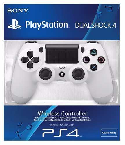 Dualshock Glacier White Para Playstation 4 En Start Games