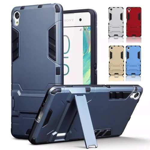 Funda + Cristal Case Uso Rudo Sony Xperia Z5 Plus E5 Xz Xa