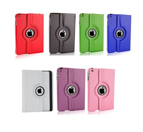 Funda Gira 360° Ipad 2 3 4 Smart Cover + Stylus Regalo Air
