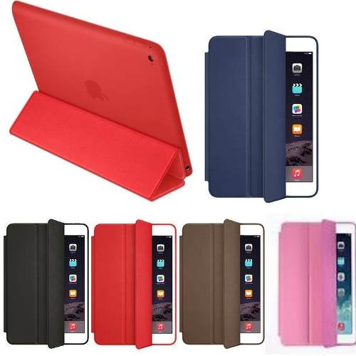 Funda Ipad 2 3 4 Air 1 Y 2 Leather Smart Case Envió Gratis