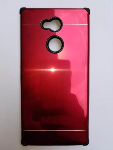Funda Protector Impacto Aluminio Sony Xperia Xa2 Ultra
