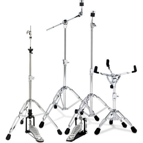 Juego De Atriles Para Bateria + Pedal Pdp By Dw Drums 8.155
