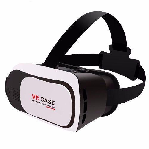 Lentes Realidad Virtual Vr Box Cardboard 3d Iphone Galaxy S7