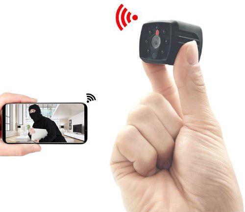 Mini Camara Espia Wifi P2p Ip Fullhd 128gb Nocturna H7 Sony
