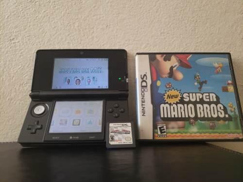 Nintendo 3ds Con 2 Juegos Gratis