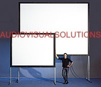 Pantalla De Proyector, Proyeccion Delantera- Trasera 4x3m