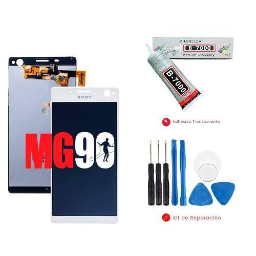 Pantalla Display Touch Sony Xperia C4 Blanco Y Negro E5306