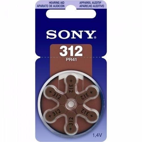Pila Auditiva Boton Sony Carrusel 6 Pzas Pr312-d6a 312 Pr41