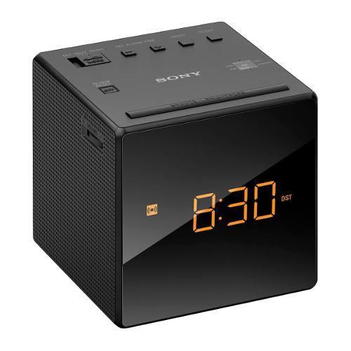 Radio Reloj Despertador Sony Negro - R0201