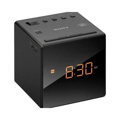 Reloj Radio Despertador Am/fm Led Negro Sony