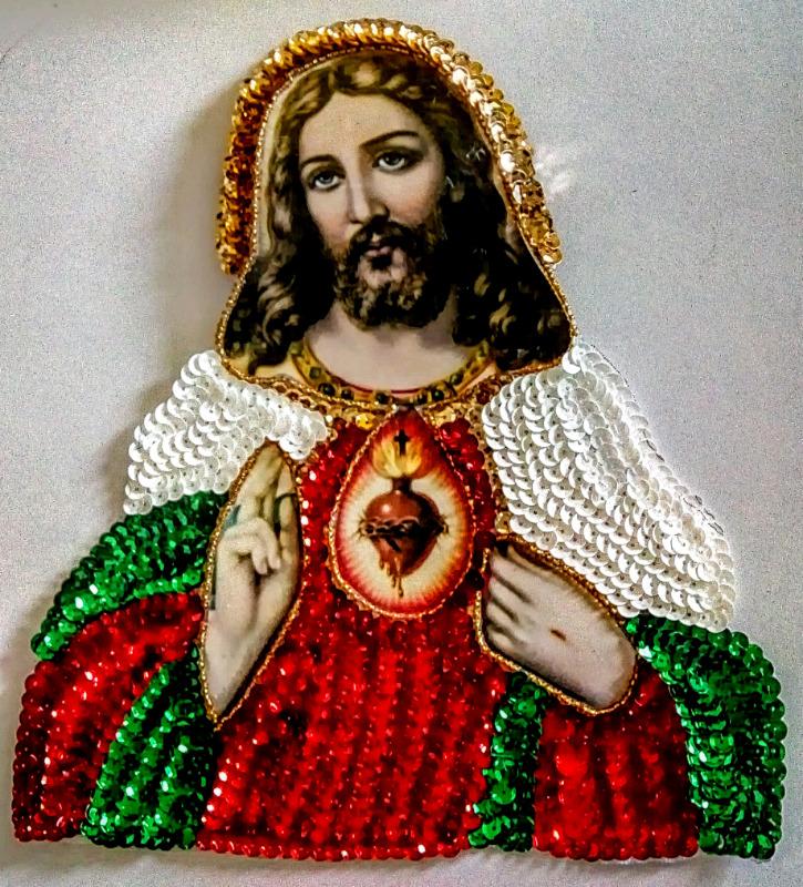 SAGRADO CORAZON DE JESUS EN LENTEJUELA