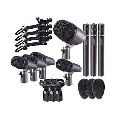 Set De Microfonos Para Bateria Takstar Dms-dh8p Envio Gratis