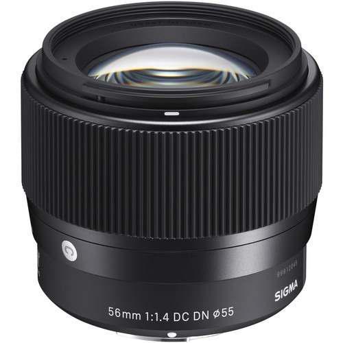 Sigma Lente 56mm F1.4 Dc Dn Contemporary / Sony E