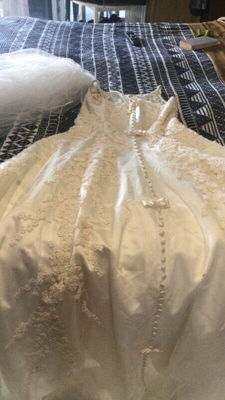 Vendo vestido de novia talla 9