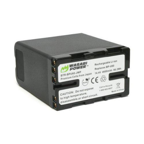 Wasabi La Energía De Batería Para Sony Bp-u60 Y Sony
