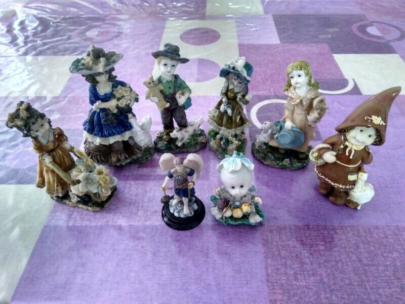 Bonitas figuras de cerámica