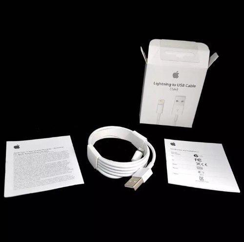 Cable Cargador Lightning Original Usb Apple 5,6,6p,7,7p,8,x