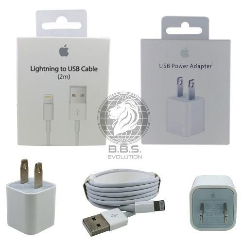 Cable Y Cargador Lightning Apple Iphone 5 6 7 8 X