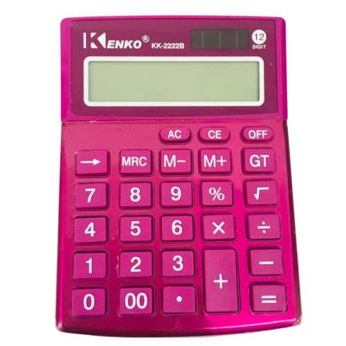 Calculadora Electronica 13 Cm 12 Posiciones Y Memoria Kenko