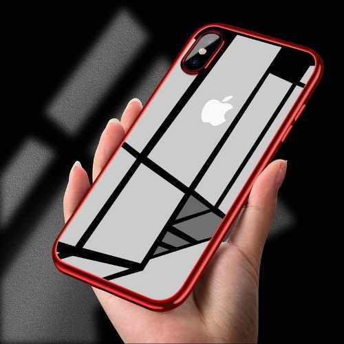 Case Cover Funda Iphone X Xs Transparente Protector +mica