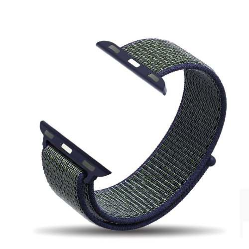 Correa Deportiva Nylon Velcro Para Apple Watch Serie 1 2 3 4