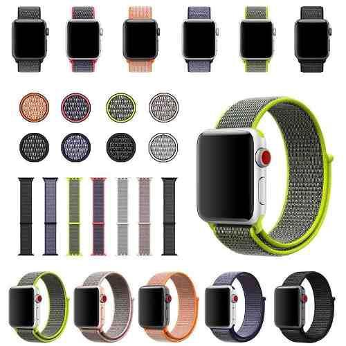 Correa Extensible Nylon Apple Watch 38mm 42mm