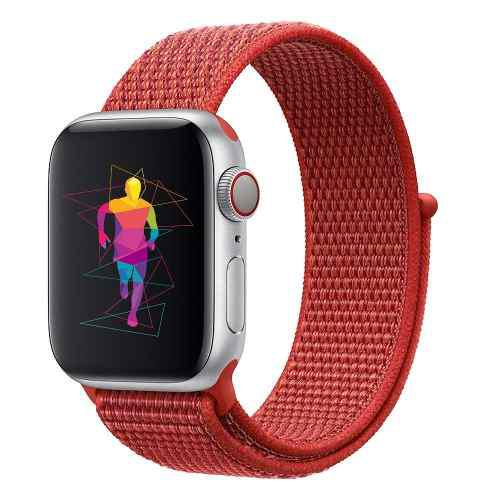 Correa Generica Nylon Sport Para Apple Watch 38-40mm 42-44mm
