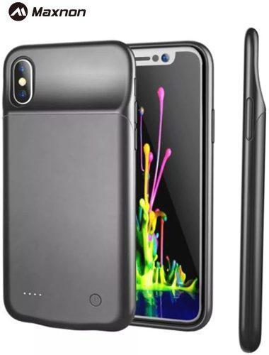 Funda Case Cargador Bateria Pila 5000 Mah Iphone X Xs Max