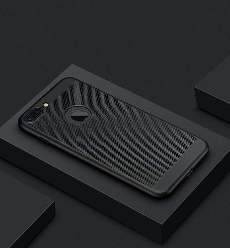 Funda Case Iphone 8 8plus X 10 Rejilla Grill + Mica Gratis