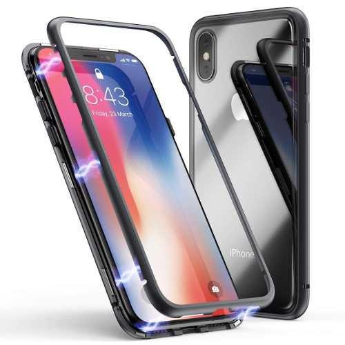 Funda Case Iphone X Xs Max Xr | 8 | 7 | 6 Aluminio Magnetico