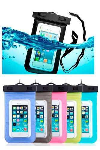 Funda Contra Agua Universal Iphone Sumergible Envio Gratis!!