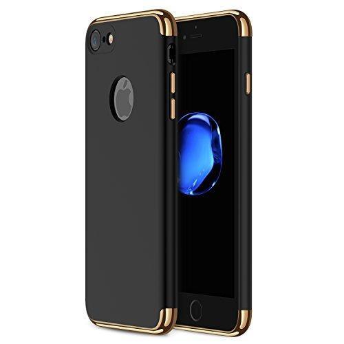 Funda Cromo Case 3 En 1 De Lujo Iphone 5 5s Se 6 6s 7 Plus