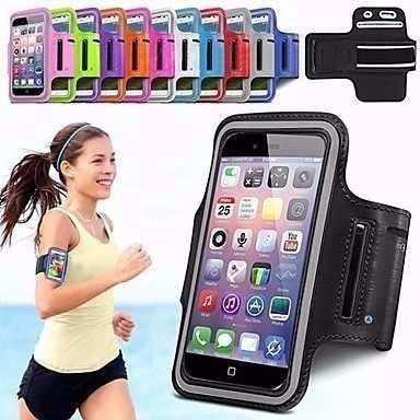 Funda De Brazo Deportiva Armband Para Iphone 6 Y 7 Mp3
