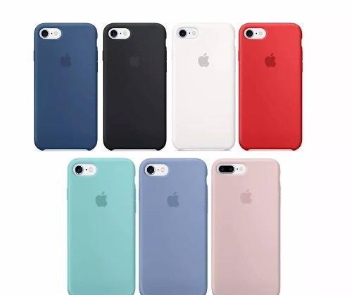 Funda De Silicon Iphone 8, 8 +, 7 7 Plus 6 6s, 6s+ Xs, X.