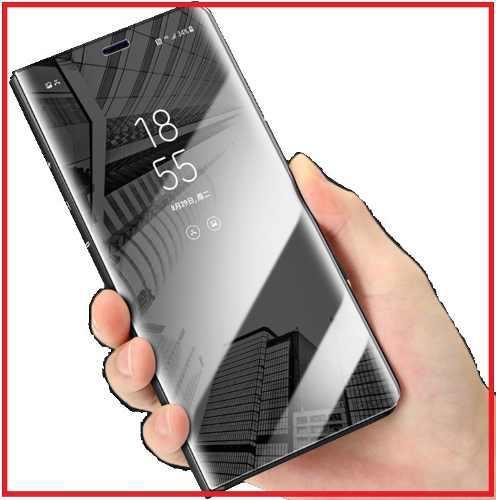 Funda Inteligente Flip Espejo Huawei Y5, Y6, Y7, Y9 +cristal