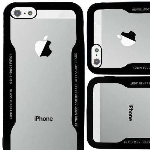 Funda Iphone 5 Se 6 6s 7 8 10 X Plus Protector Transparente