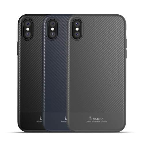 Funda Iphone 7 8 Plus X Xs Resistente Fibra Carbono Lujo