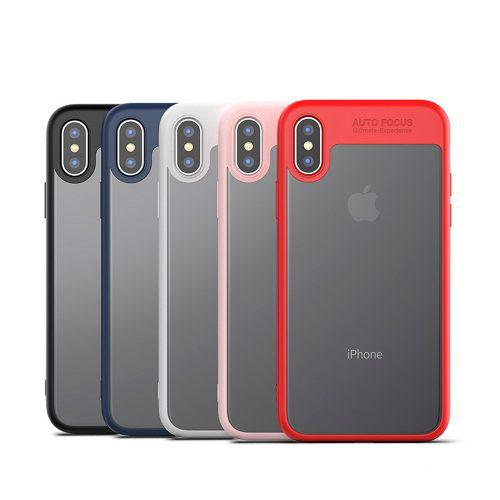 Funda Iphone 7 8 X Xs Plus Transparente Bumper Lujo Ipaky