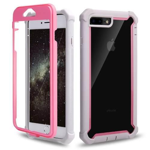 Funda Iphone 7 Y 8 Plus Uso Rudo 360 - Mica Cristal Gratis