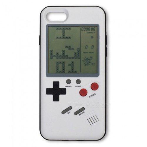 Funda Iphone X 6 7 8 Plus Tetris Juego Retro Gameboy Colores