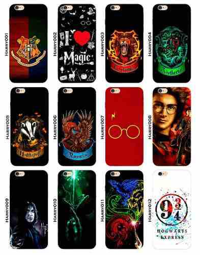 Funda Iphone X 8 7 6 5 Se 5s Plus Xr Xs Harry Potter Escudos