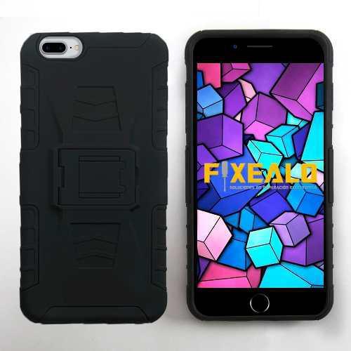 Funda Iphone Xr Xs / Max X 7 8 6 / Plus 5 4 Rudo + Cristal