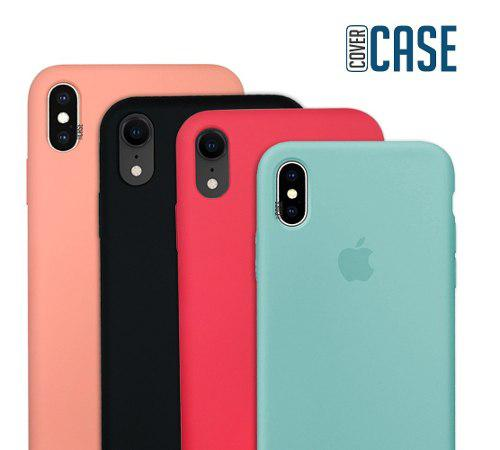 Funda Iphone Xs / Max / Xr / X Protector Silicon Case Suave