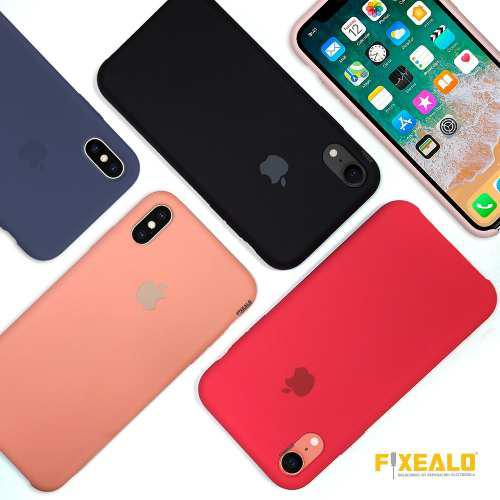 Funda Iphone Xs / Max / Xr / X Protector Silicon Exclusiva