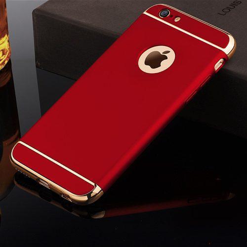 Funda Lujo Cromo 3 En 1 Iphone 6 6s 7 7 Plus Se En Oferta