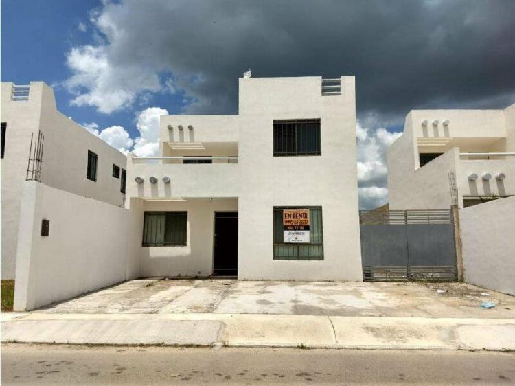 Hermosa casa amueblada 3 rec en renta en Las Américas